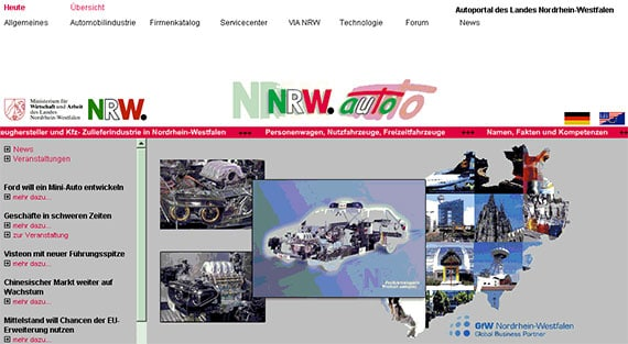 NRW.Auto Website