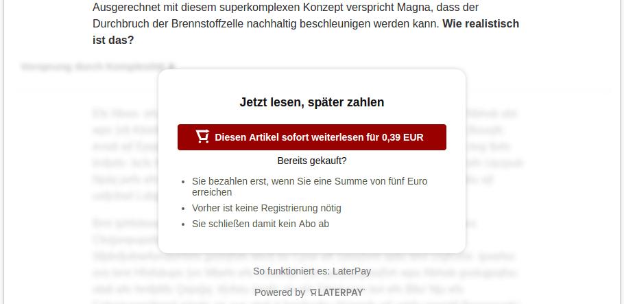Spiegel Paywall