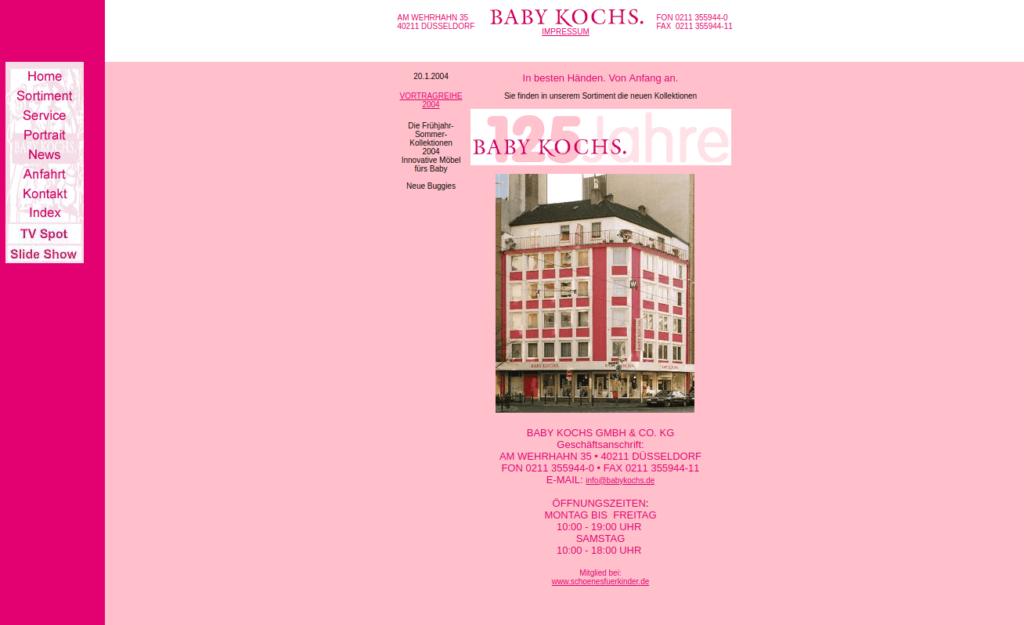 Baby Kochs 2004