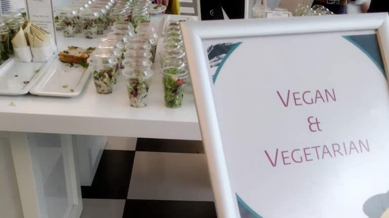 WCEU 2019 Vegan Options