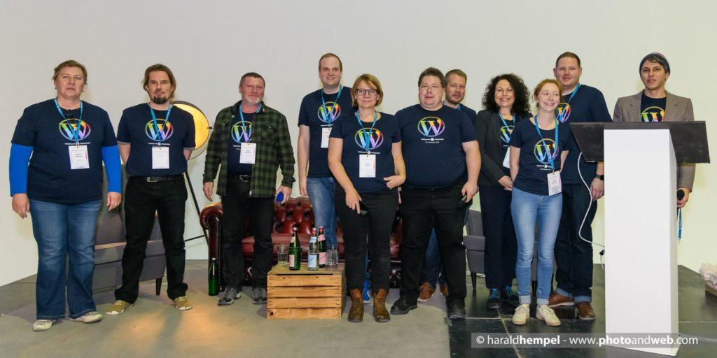 WordCamp Düsseldorf Orgateam
